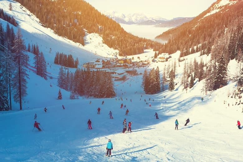 Skiing in Belgium