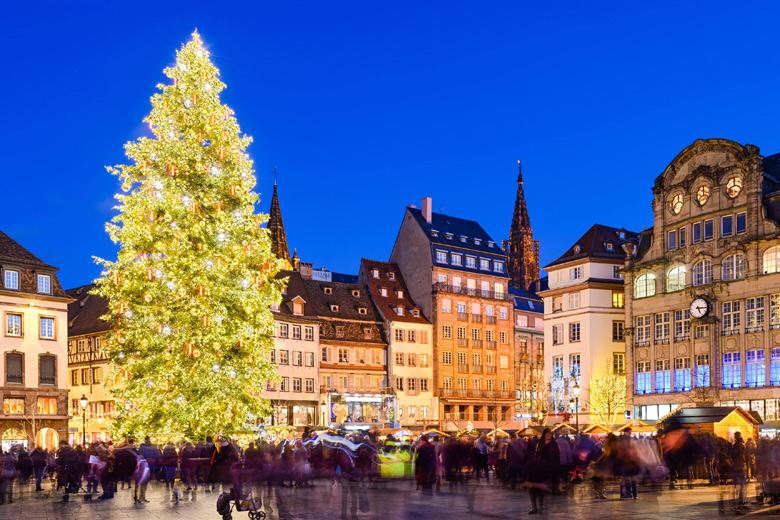 christmas market in strasbourg france