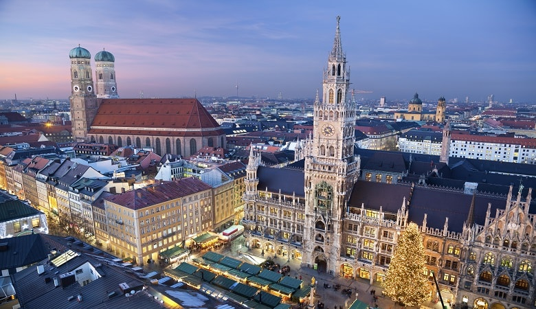 where are the christmas markets in munich