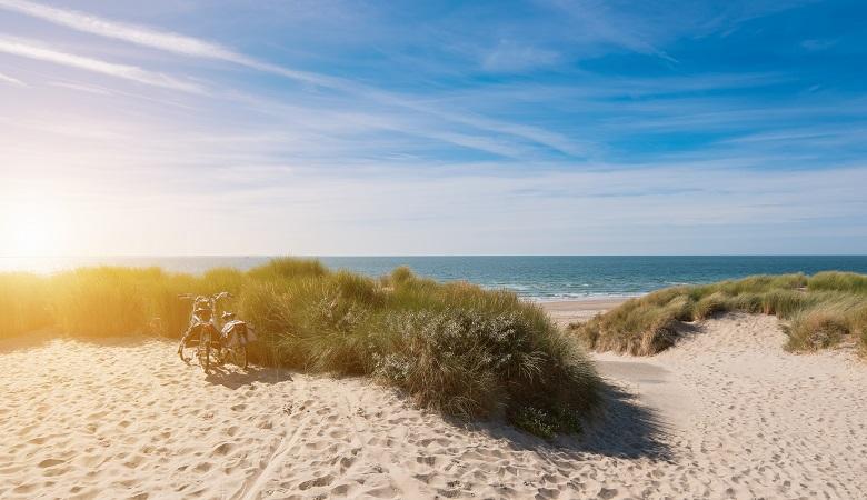 Belgian coast De Panne