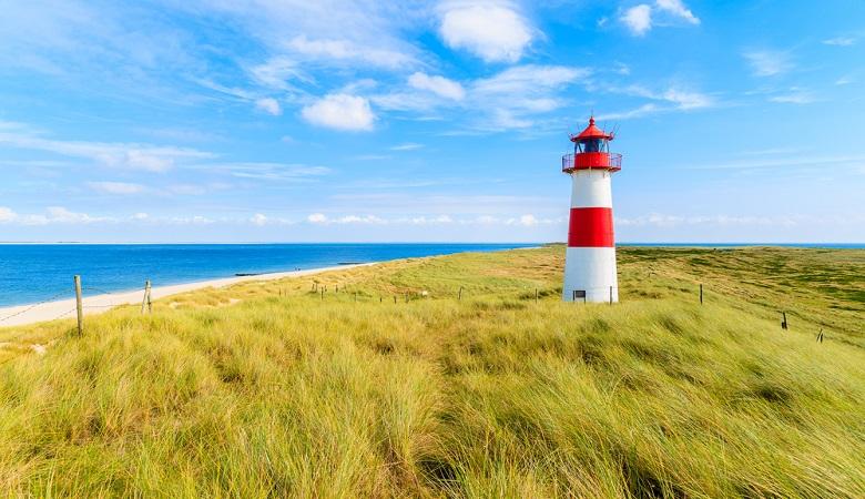 Belgium beaches Nieuwpoort