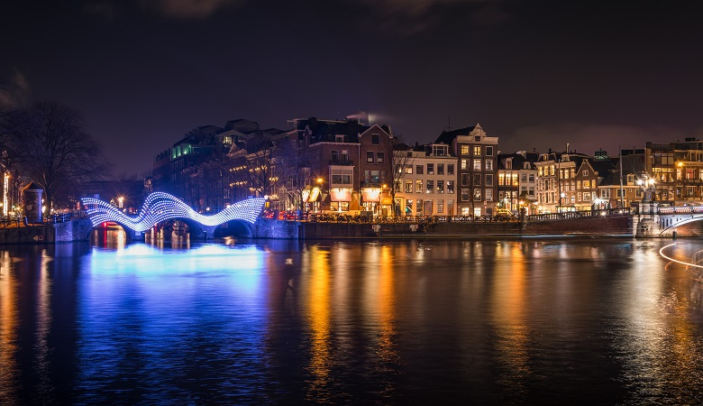 Netherlands Lights Amsterdam