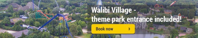 Walibi Village accommodation for Walibi Fright Nights